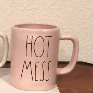 HOT MESS pink mug